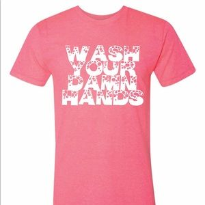 Wash Your Hands Unisex American Apparel Tee